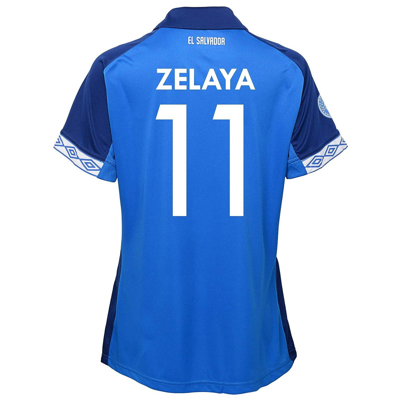 Umbro ZELAYA  11 El Salvador Home Women's Soccer Jerseybluee 201920