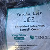 Amazon Com Panda Life Shredded Memory Foam Pillow King