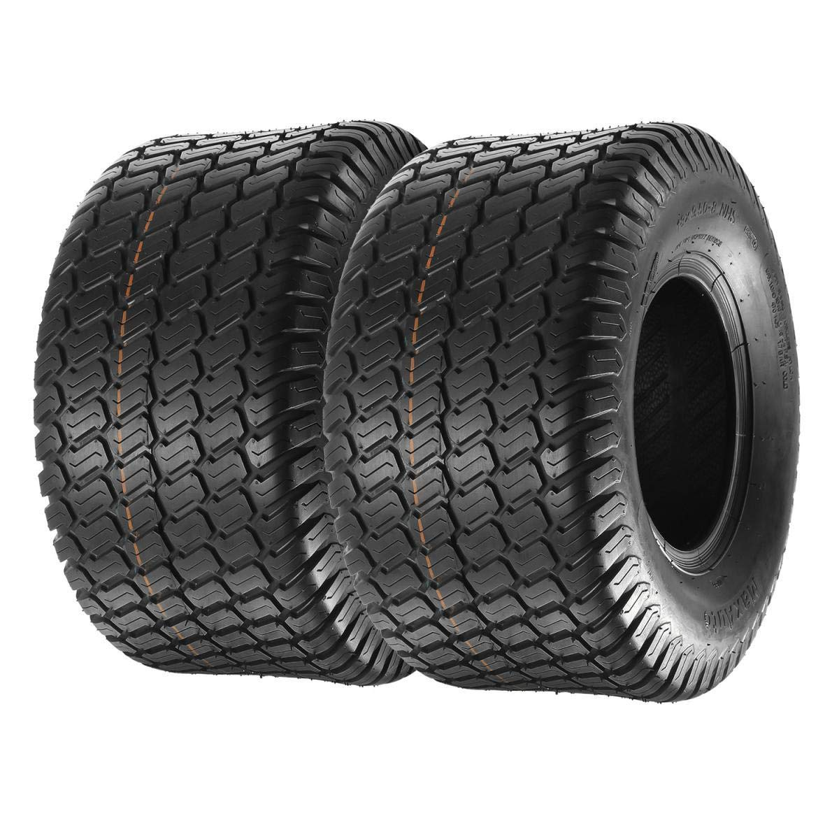 MaxAuto Set of 2 18x9.50-8 18/9.50-8 Lawn & Garden Mower Tractor Turf Tires 4PR by MaxAuto