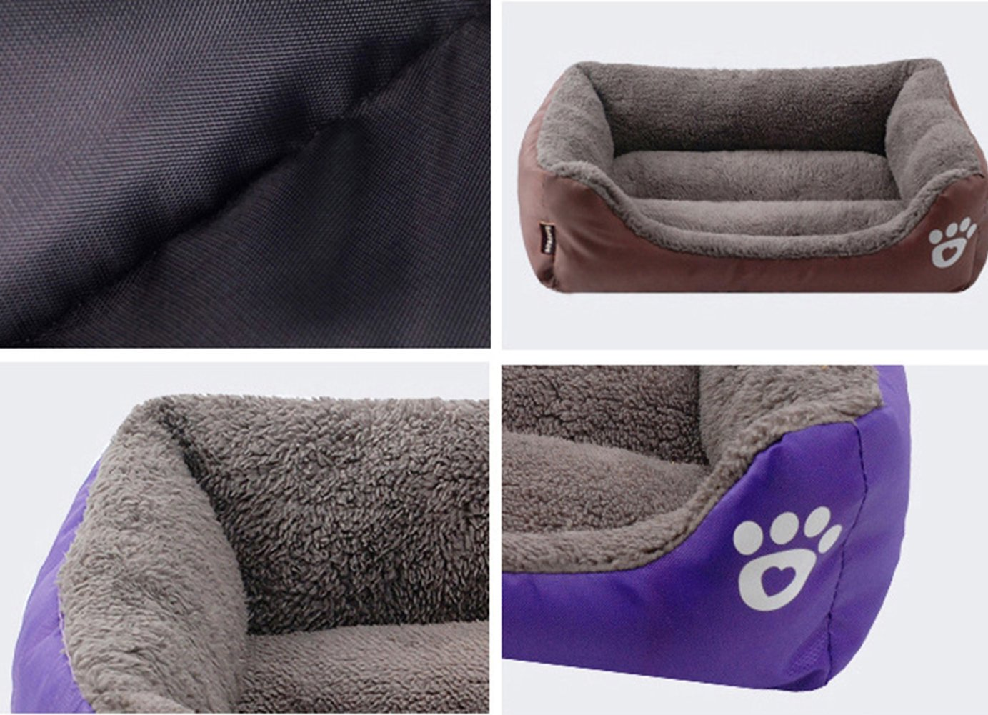 Amazon.com : Liveinu Pet Bed Orthopedic Washable Pets Sofa Bed for Dogs & Cats Nonslip Waterproof Bottom Lounge Sleeper Dog Bed : Pet Supplies