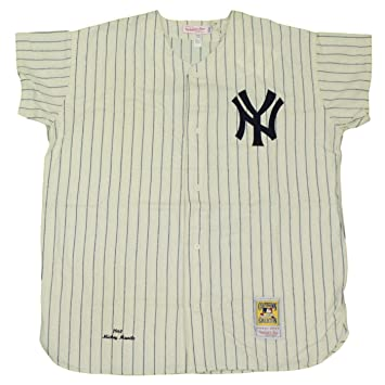 Mitchell   Ness Mickey Mantle New York Yankees MLB Authentic 1961 Jersey 4430e03579e