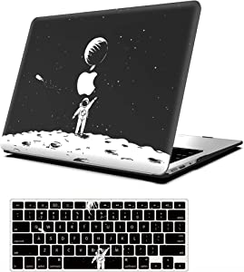 AOGGY Hard Case for MacBook Air 13 Inch Model:A1369/A1466 (2010-2017 Release) , Outer Space Model Ultra-Thin HD Painted Plastic Hard Shell Protector Cover with Keyboard Cover-Space Astronaut