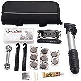 Agapo herramientas multifunción para bicicleta, Kit de Herramientas de Bici, Multiherramienta, reparación Kit de herramientas