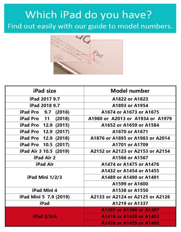Avril Tian funci/ón Atril, magn/ética, funci/ón Atril Funda para iPad 2 3 y 4