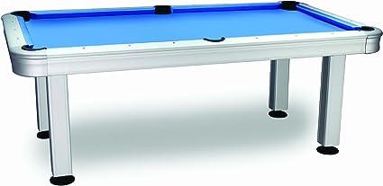 Imperial International 7 ft. non-slate al aire libre mesa de billar con accesorios - 26-730, 84 in., Azul: Amazon.es: Deportes y aire libre