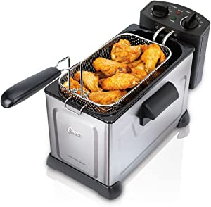Oster Professional Style Stainless Steel Deep Fryer