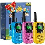 Walkie Talkies, SANJOIN Walkie Talkie for Kids 22 Channels 2 Way Radios Walkie Talkies with Backlit LCD Flashlight, 3…