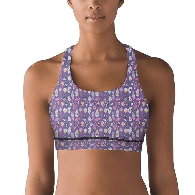 Amazon.com: Chaleco de yoga para mujer, diseño de dibujos ...