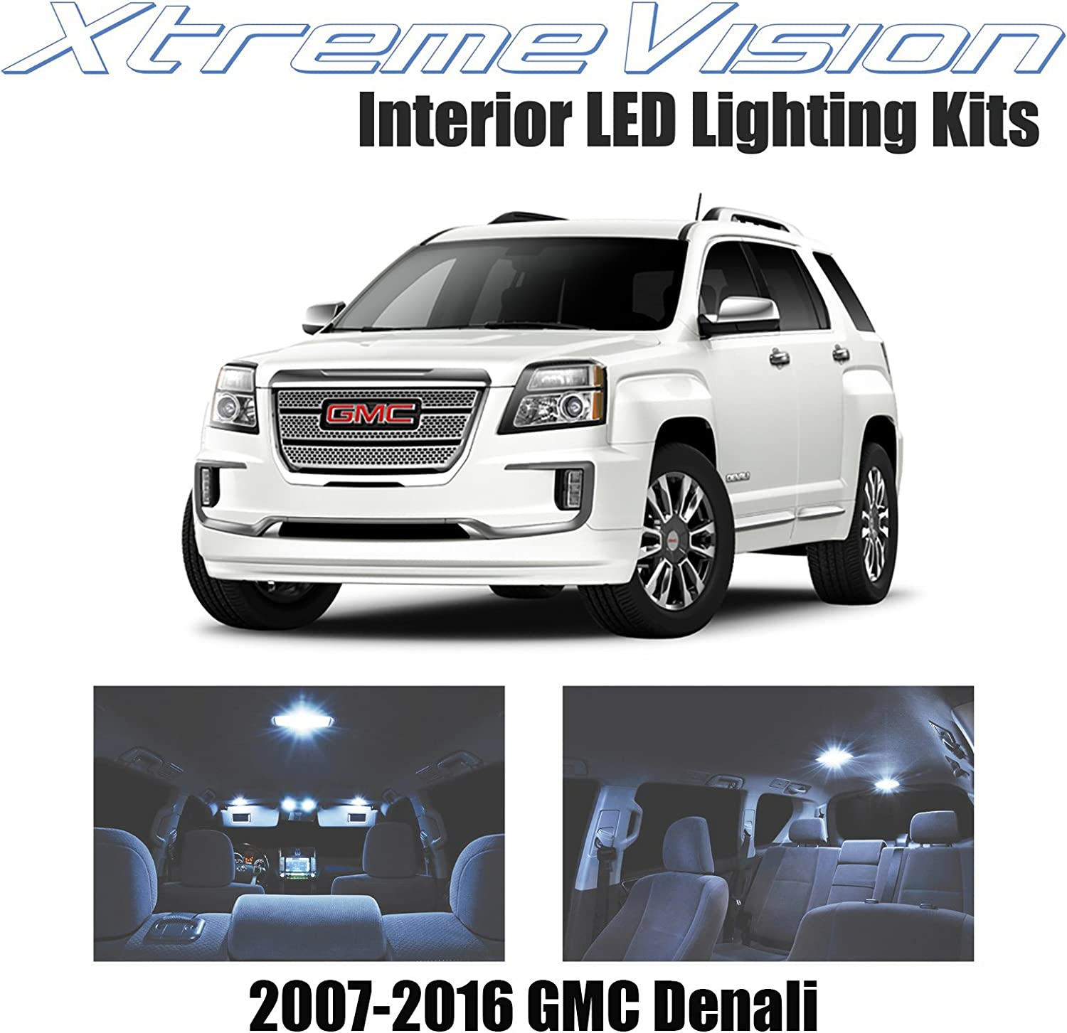 IPCW GMC 07-10 Yukon//Yukon XL//Denali//Denali XL LED Tail Lamps Red LEDT-611CR