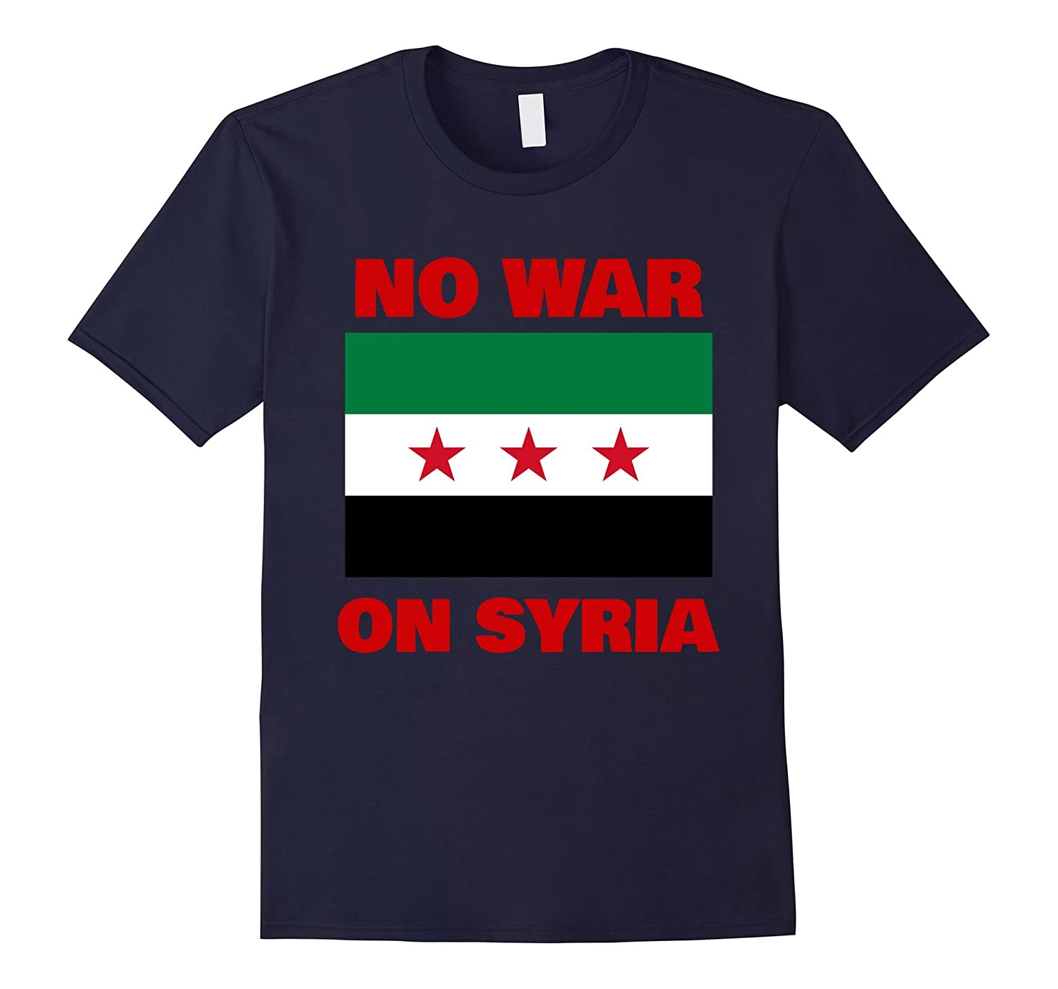 No War On Syria  Anti Syrian War Tshirt Tell Congress NO-TD