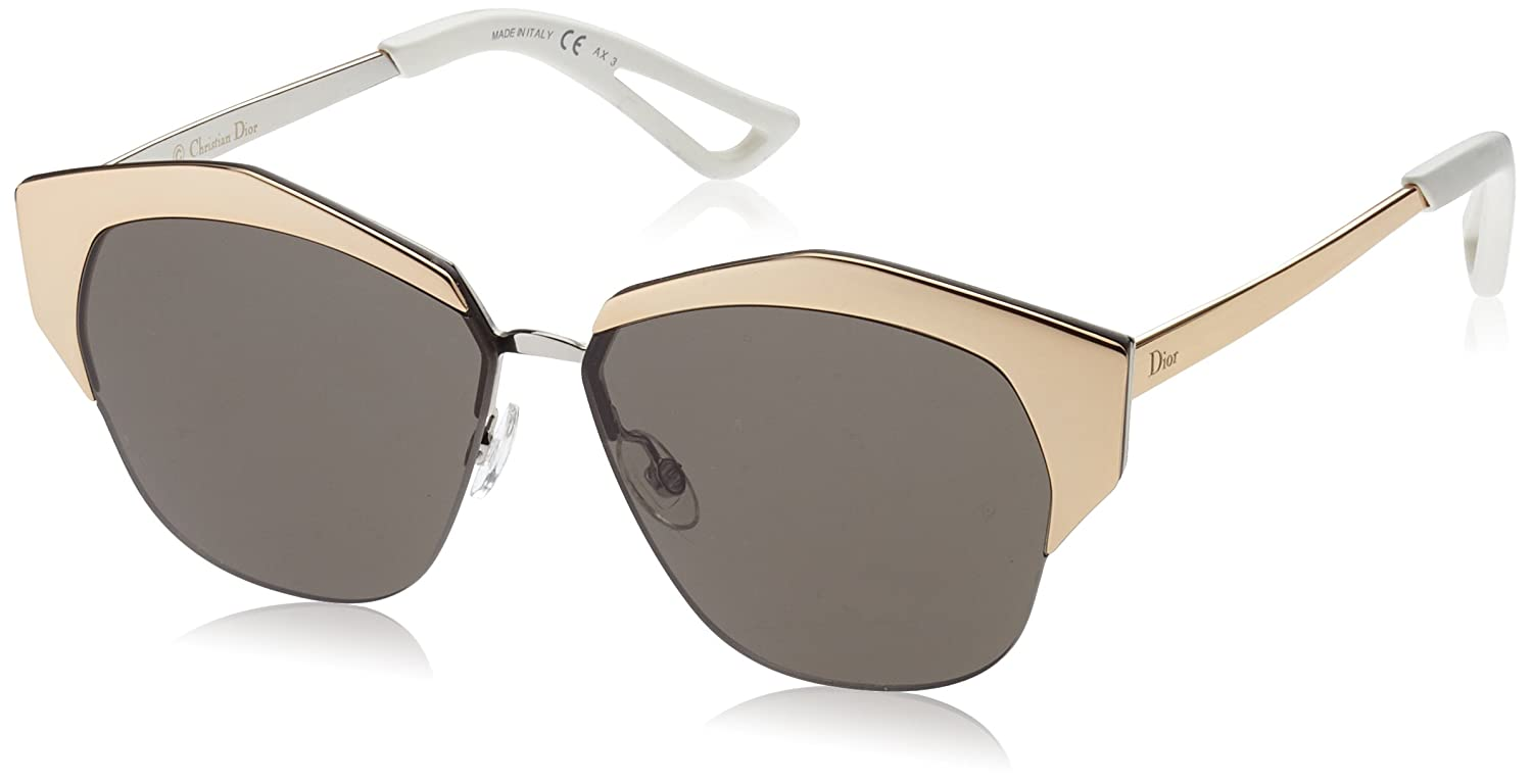 46fb0cf83252 Amazon.com  Christian Dior Mirrored S Sunglasses Rose Gold Palladium Brown   Dior  Clothing