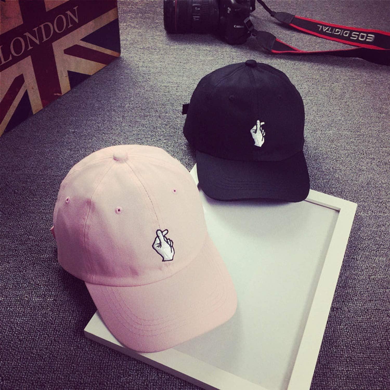 Quality Spring Cotton Caps Snapback Hat Adult Fashion Women Baseball Cap Adjustable Hip Hop Finger Sun Caps