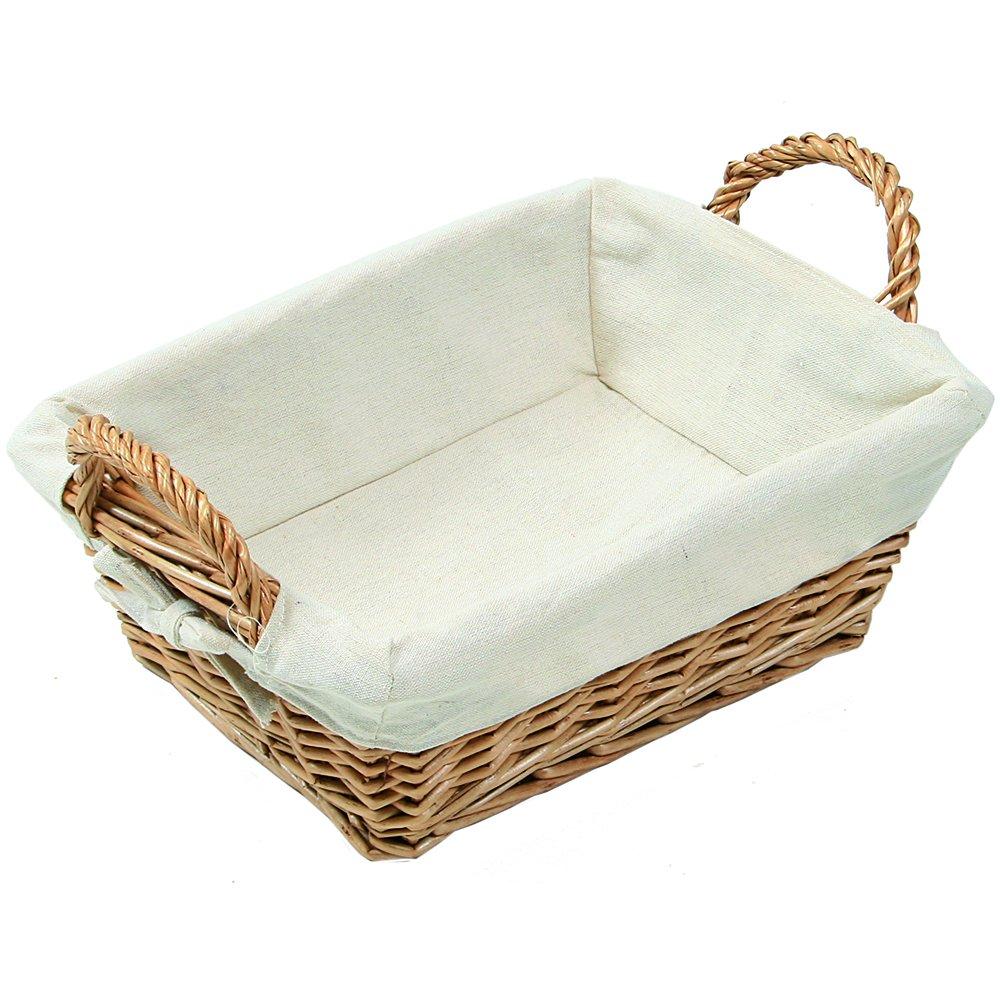 Kesper 17901 Bread basket 11.02'' x 8.66'' x 2.95'' of willow, Brown