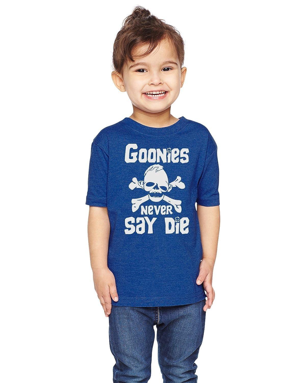 Brain Juice Tees Goonies Never Say Die Unisex Toddler Shirt