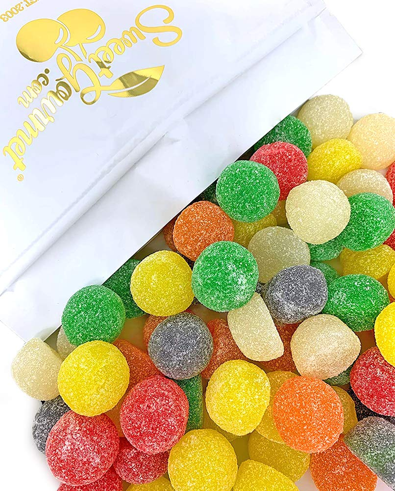 SweetGourmet Assorted Giant Gum Drops | Large Gumdrops Jelly Candy | 2.5 Pounds