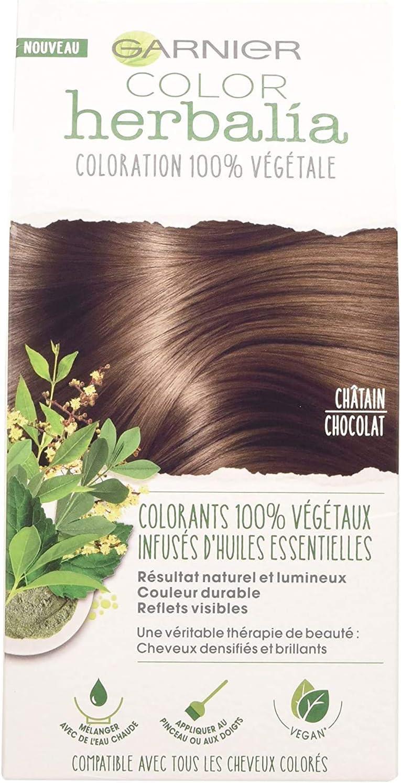Garnier Color Herbalia - Colorante 100% vegetal, Chatain Chocolat