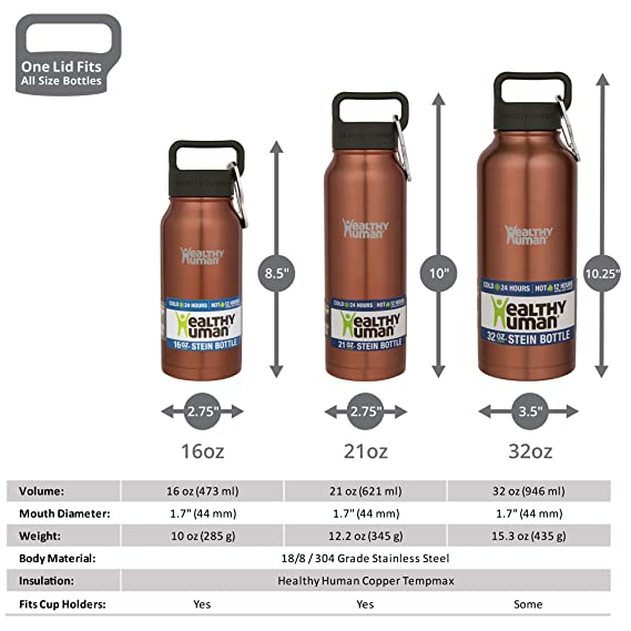 12048d356 ... Designer Collection Stainless Steel Vacuum Insulated Water Bottle
