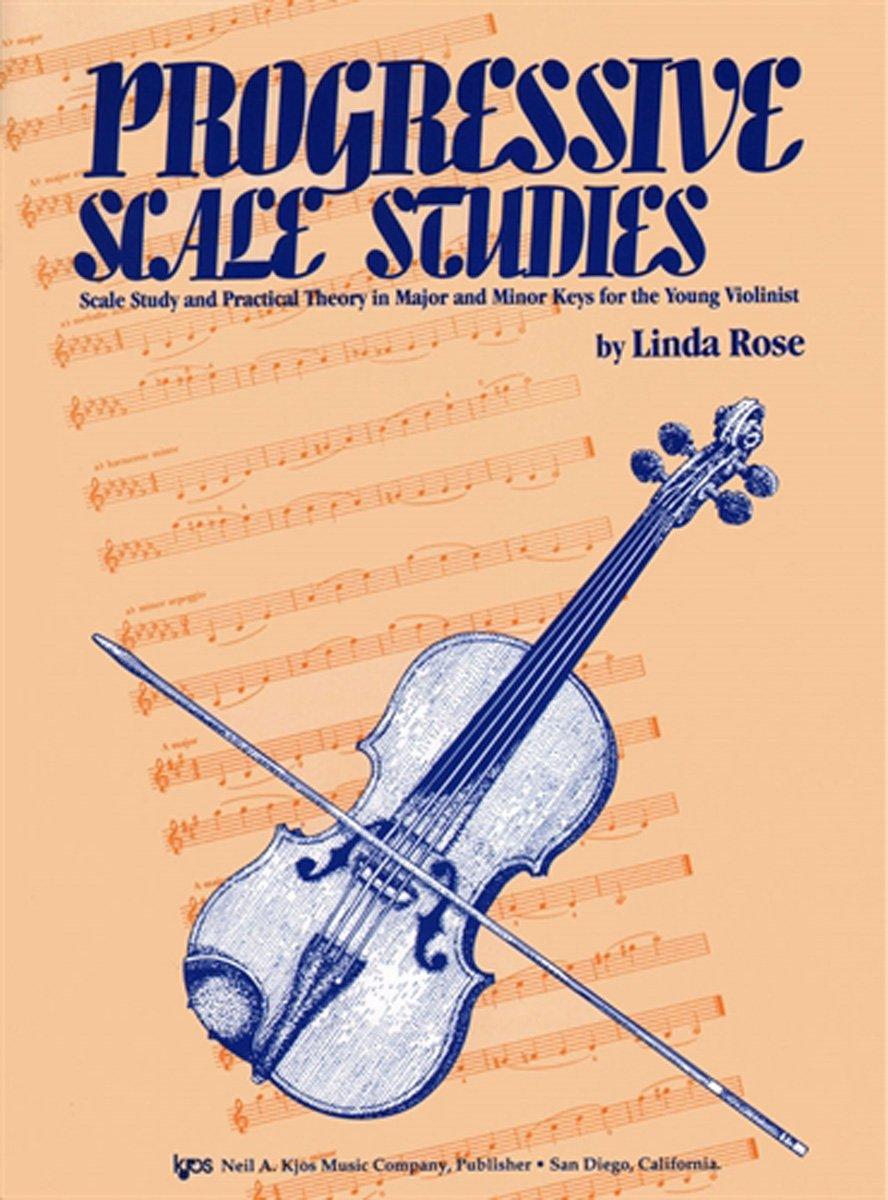 Read Online L590 - Progressive Scale Studies - Scale Study and Practical Theory in Major and Minor Keys for the Young Violinist pdf