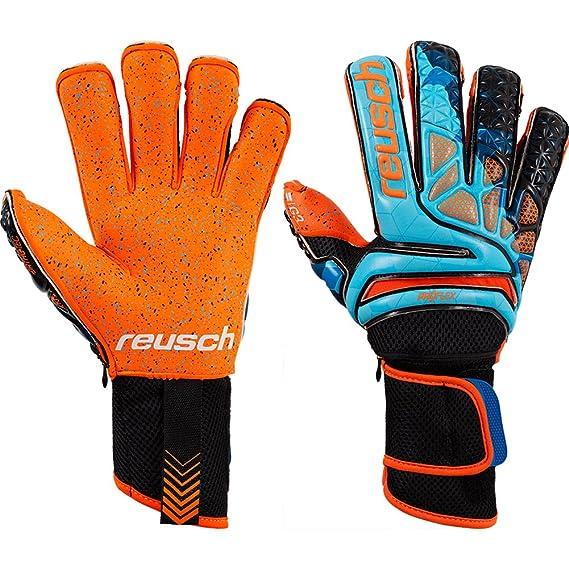 d343368341b Prisma Pro G3 Fusion Evolution Ortho-Tec Ltd Edition Goalkeeper Gloves -  Blue/Black/Orange: Amazon.co.uk: Clothing