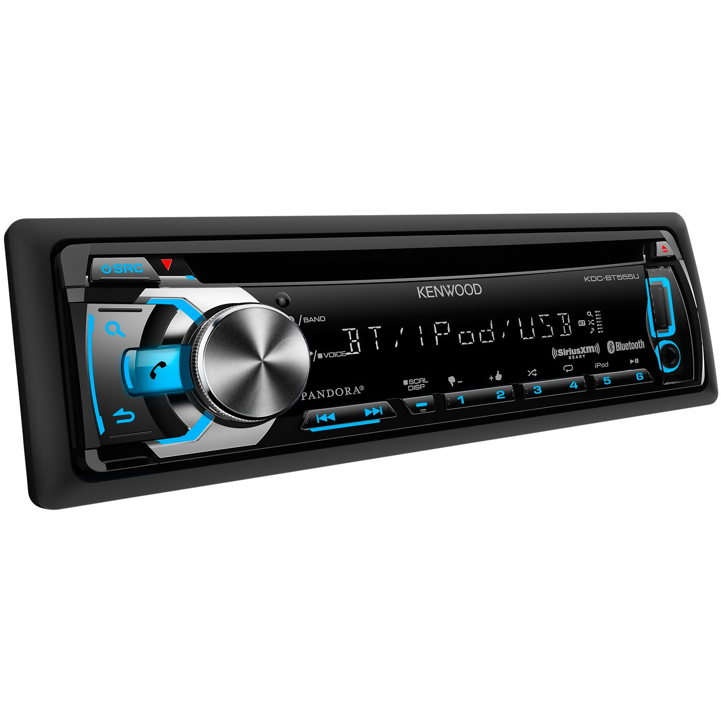 Amazon.com: Kenwood KDC-BT555U In-Dash CD/MP3/USB Car Stereo Receiver with  Bluetooth: Cell Phones & Accessories