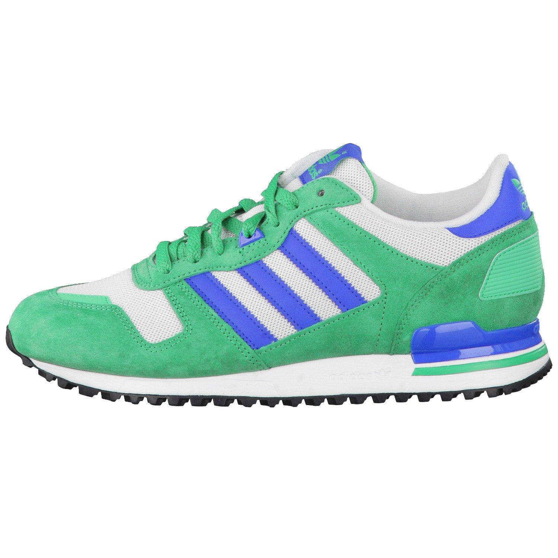 93b92f59a58 Adidas ZX 700 SurGrn Blubir Ftwwht Green 44  Amazon.co.uk  Shoes   Bags