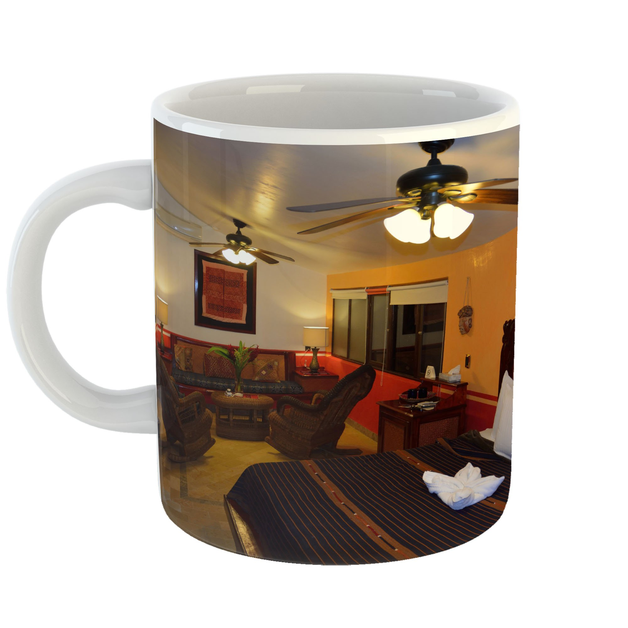 Westlake Art - Room Hotel - 11oz Coffee Cup Mug - Modern Picture Photography Artwork Home Office Birthday Gift - 11 Ounce (CD5F-77231)
