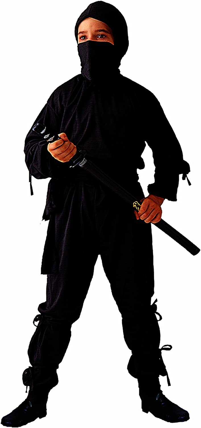 Child Black Ninja Costume (Sword Not Included)