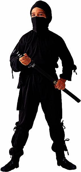 Amazon.com: Child Black Ninja Costume (Sword Not Included ...