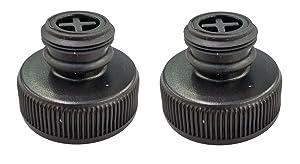 (2) Bissell 203-8413 Tank Cap for Powerfresh Steam Mop