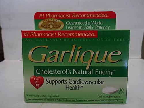 Garlique Garlique — 30 Tablets