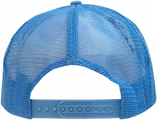TCJX Funny Octopus and Diver Mesh Baseball Cap Girls Adjustable Trucker Hat Sky Blue