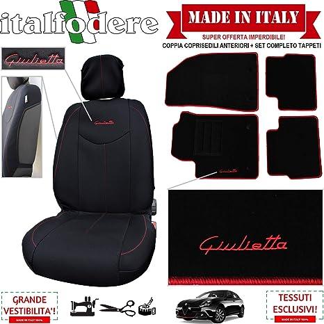 italfodere Coppia COPRISEDILI Specifici Alfa Romeo Giulietta +