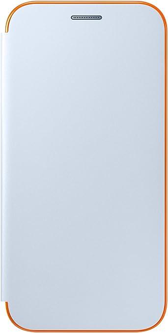 Galaxy A520 A5 (2017) Neon Flip Cover Blue
