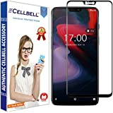 CELLBELL Tempered Glass Screen Protector for OnePlus 6 (Black)