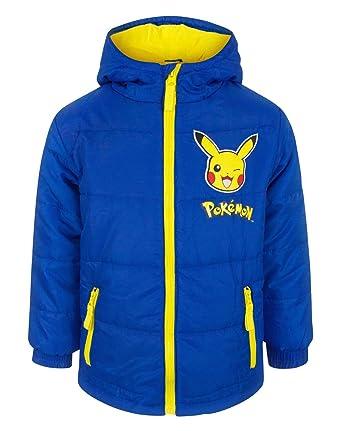 4b801bd58 Pokemon Pikachu Boy s Coat (4 Years)  Amazon.co.uk  Clothing