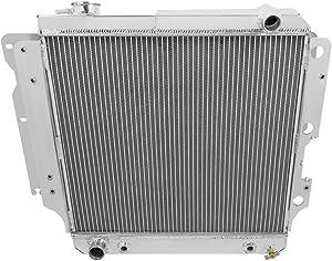 Champion Cooling, 4 Row All Aluminum Radiator Jeep Wrangler YJ, MC2101