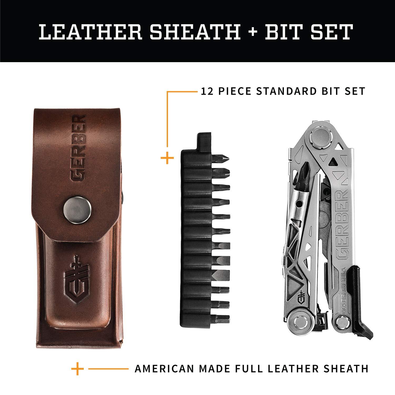 Gerber Center-Drive Plus Multi-Tool | Bit Set, Premium Leather Sheath [30-001417] by Gerber (Image #6)