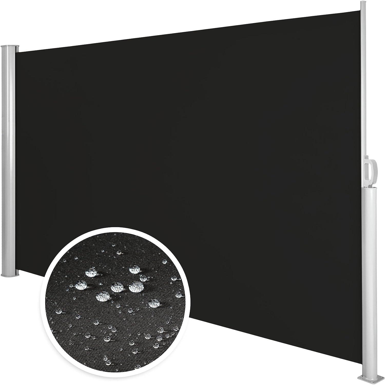 Beige | 180x300cm | no. 401529 disponibile in diversi colori e diverse misure TecTake Tende da sole paravento laterale frangivento estensibile Corpo e assistenza post interamente in alluminio