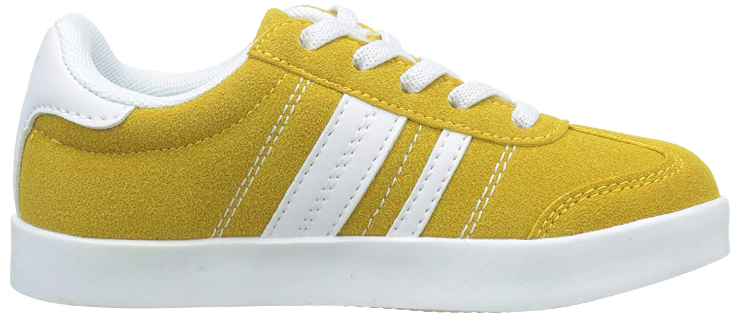 Amazon.com | ZIPPY Boys Zapatillas De Color para Niño Low-Top Sneakers, Yellow (Golden Rod 14/0951 TCX 2665), 14 UK | Sneakers