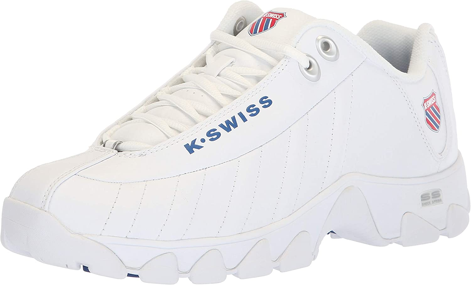 Retro Sneakers, Vintage Tennis Shoes K-Swiss Mens St329 Heritage Sneaker $49.99 AT vintagedancer.com