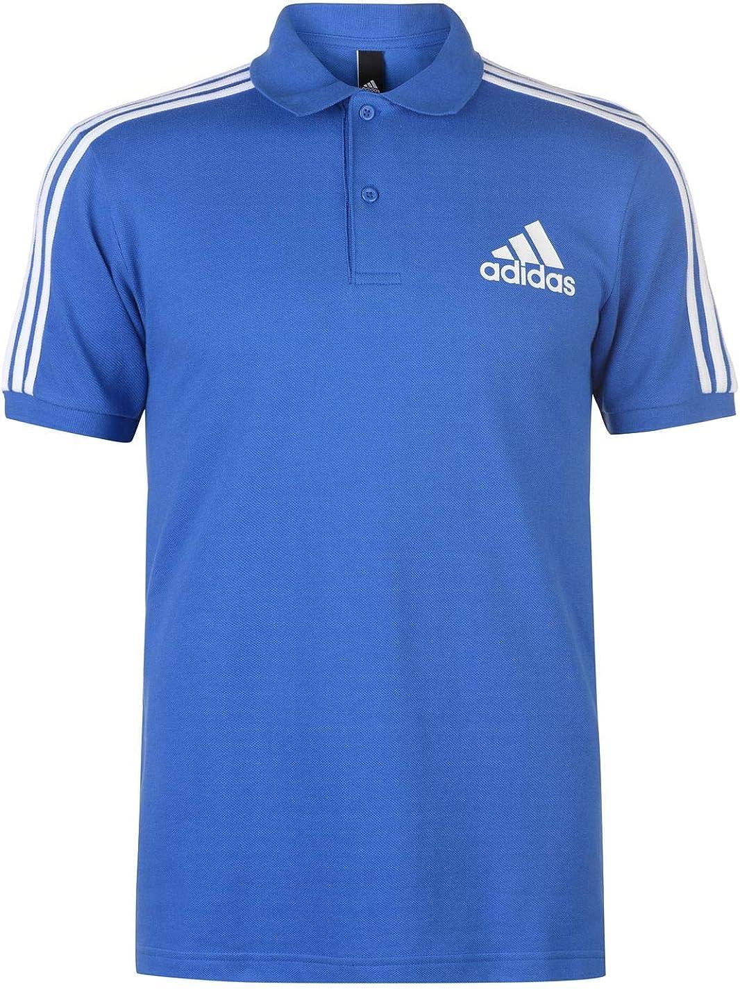 adidas 3-Streifen Logo Poloshirt Polo para Hombre: Amazon.es: Ropa y accesorios