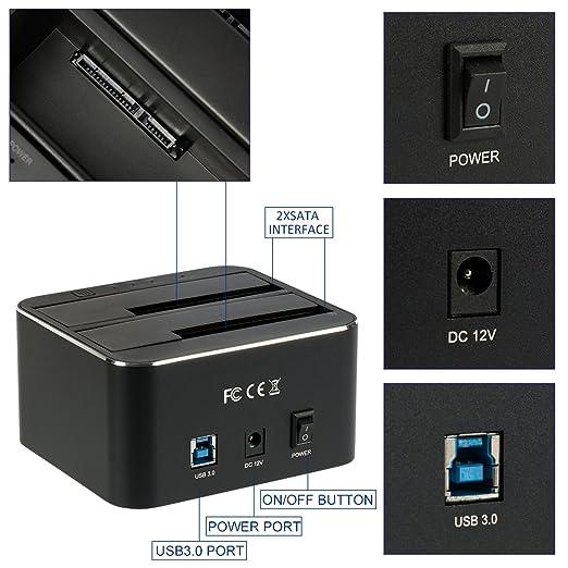 Amazon.com: Xiaobi - Estación de acoplamiento de disco duro ...