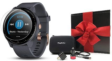 d0aa79fa87c0 Amazon.com  Garmin vivoactive 3 Music Gift Box Bundle