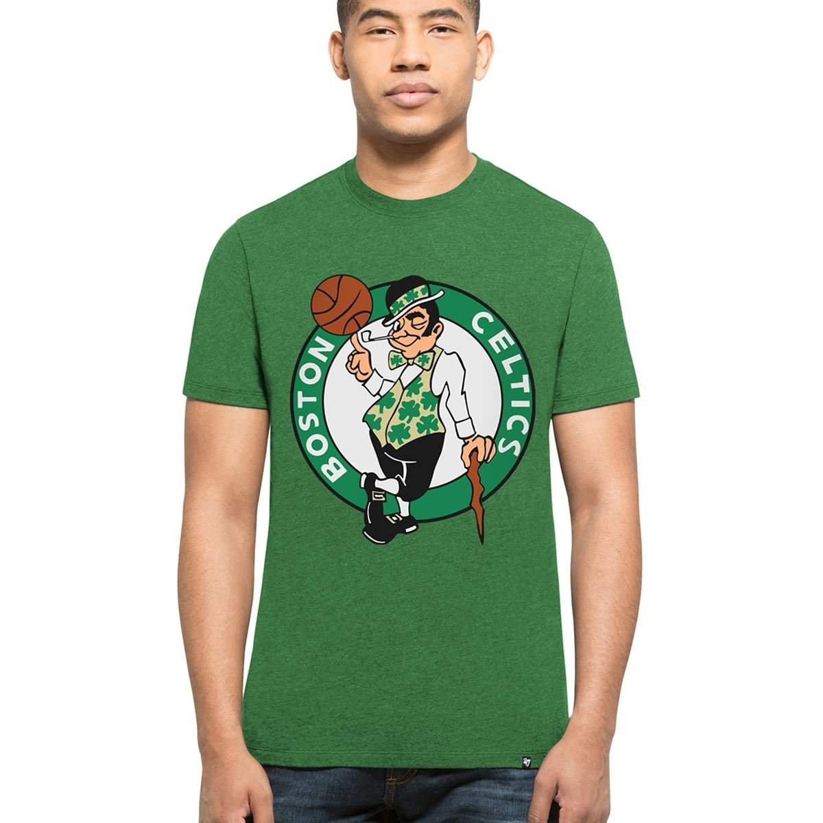 '47 Brand Boston Celtics Club NBA T-Shirt Green 305487GREEN