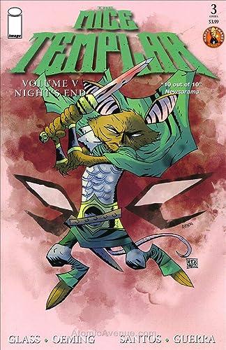 Amazon.com: Mice Templar, The (Vol. 5): Nights End #3A VF ...