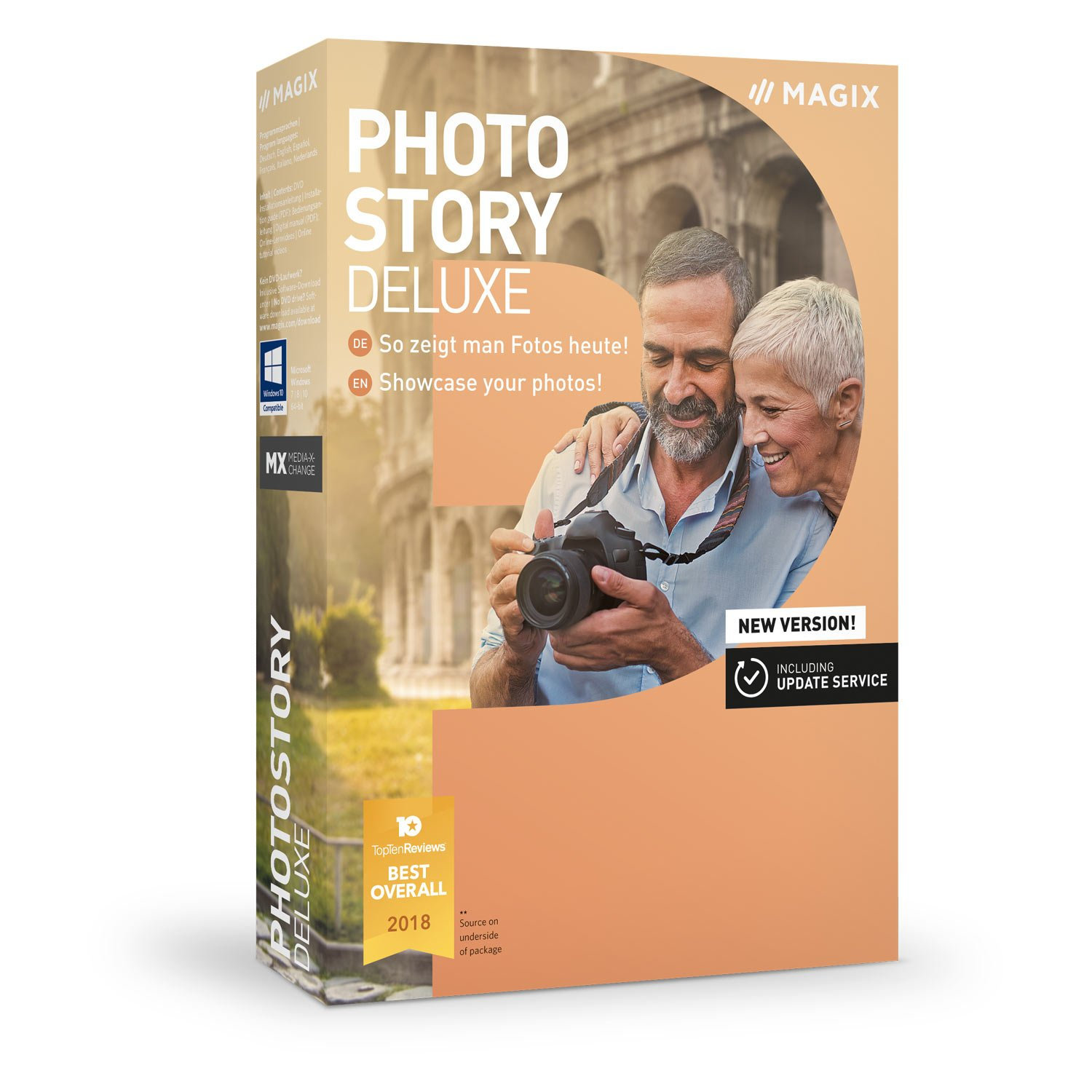 MAGIX Photostory Deluxe - Version 2019 - Create Slideshows the Easy Way Us Magix Entertainment 639191017612