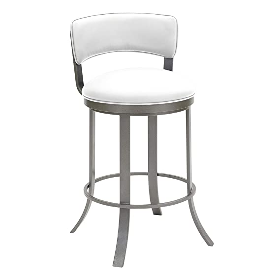 Amazon.com: Taylor Gray Home Camilla Metal Swivel Barstool ...