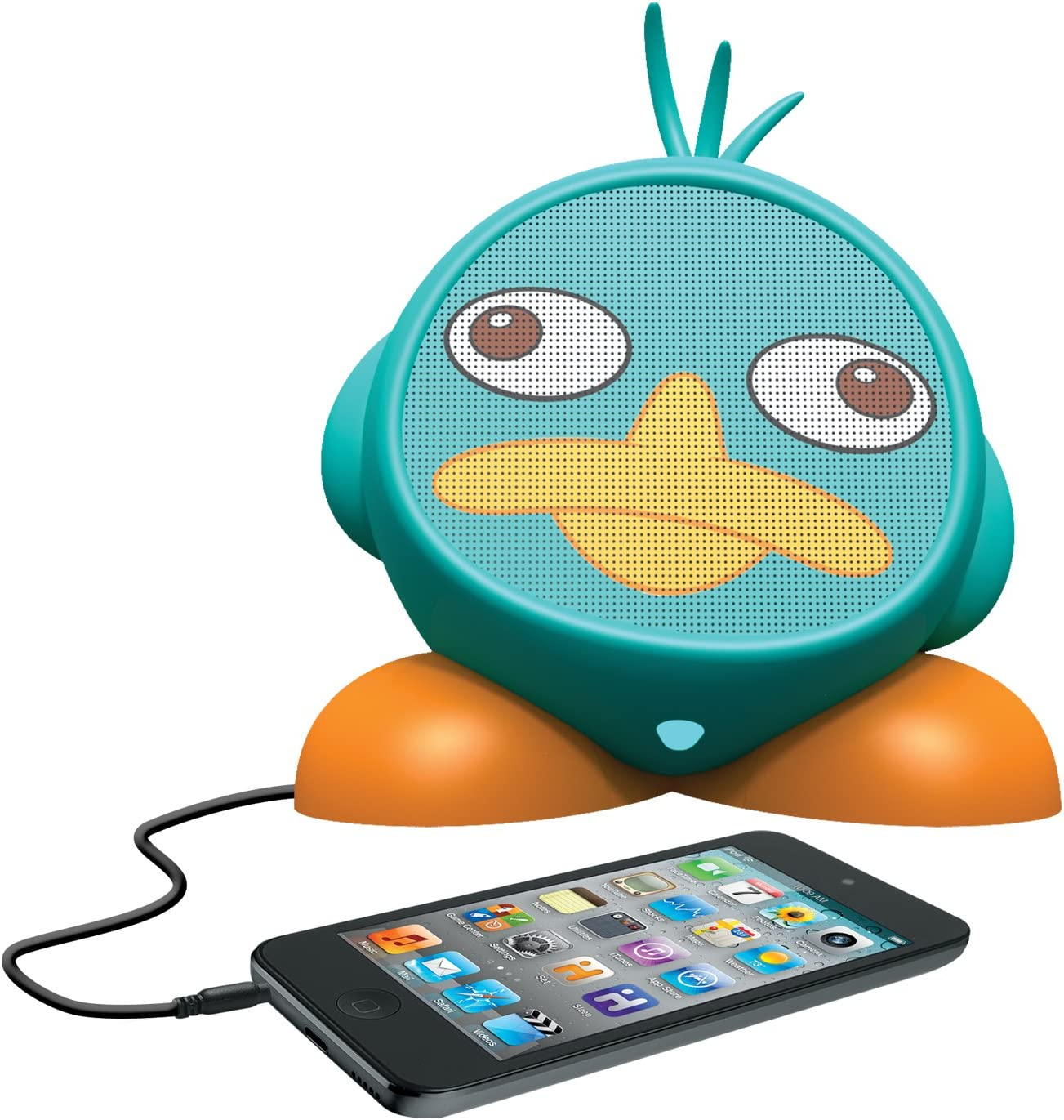 Phineas and Ferb Rechargeable Character Speaker, DF-M662