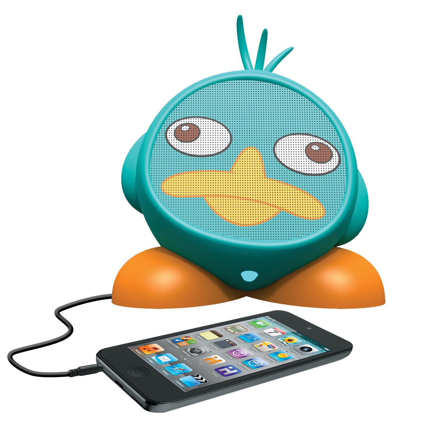Amazon.com: Phineas and Ferb Rechargeable Character Speaker, DF-M662 ...
