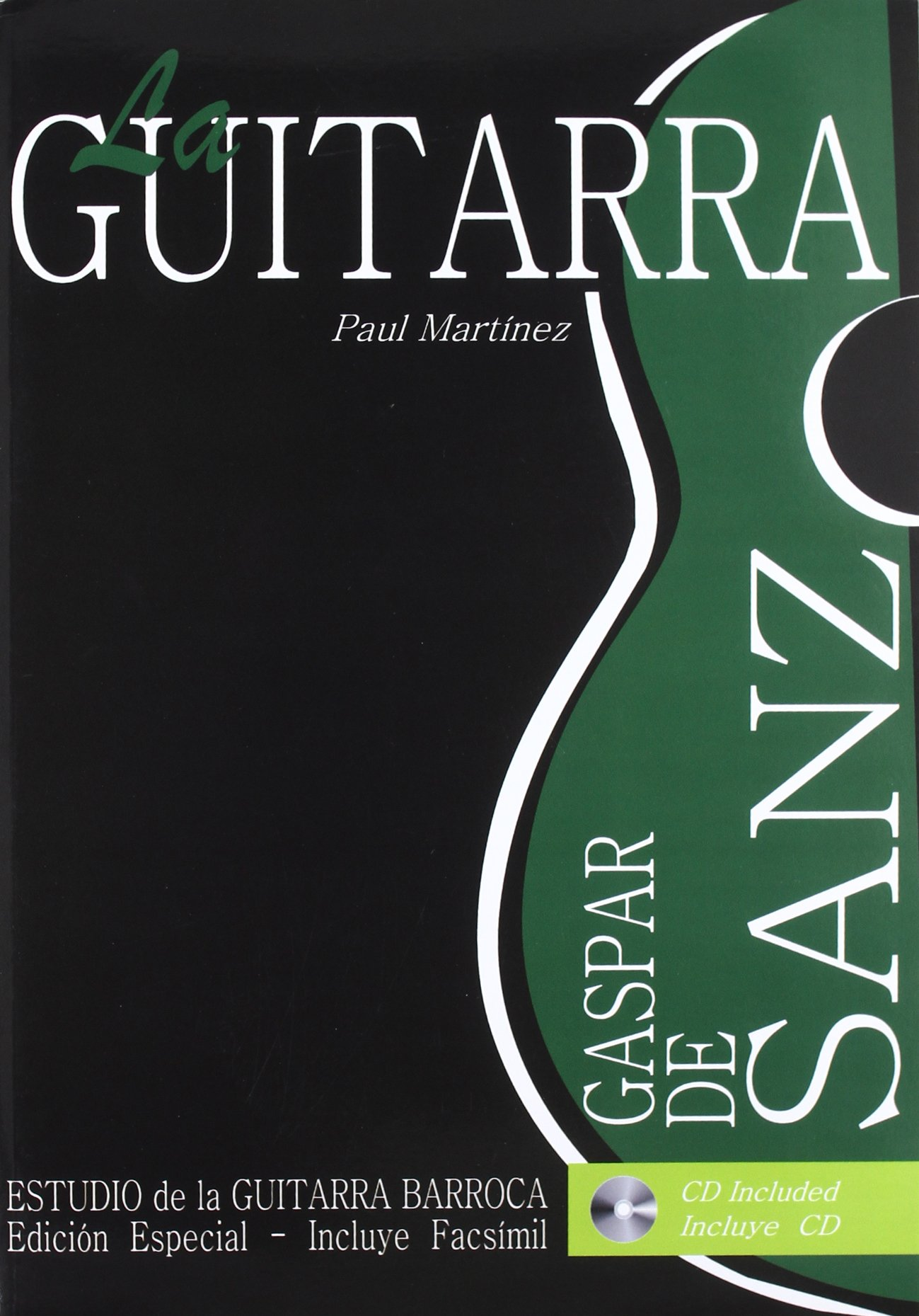 Gaspar de sanz - estudio de la guitarra barroca + CD: Amazon.es ...